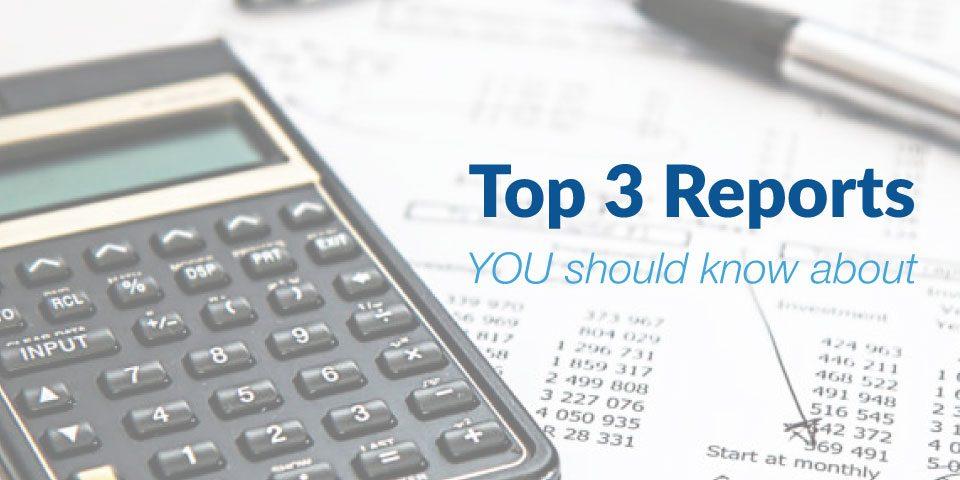 Top 3 Medical Billing Reports
