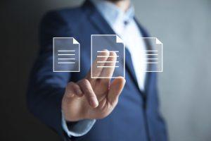 electronic document image