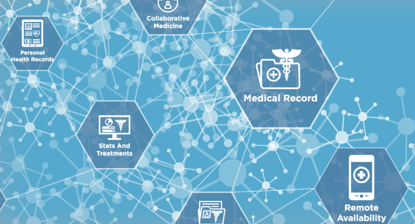 EHR Abstract Graphic