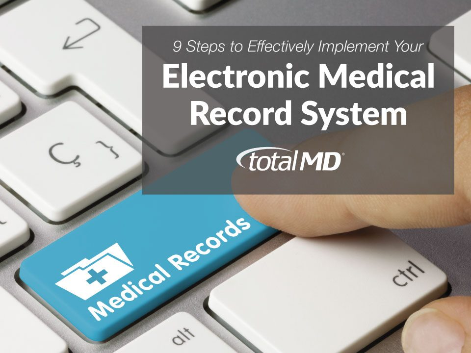 So you selected an EMR System, now what?