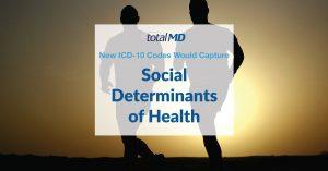 ICD-10 Codes, social determinants of health