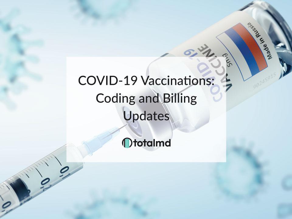 covid vaccine medical billing